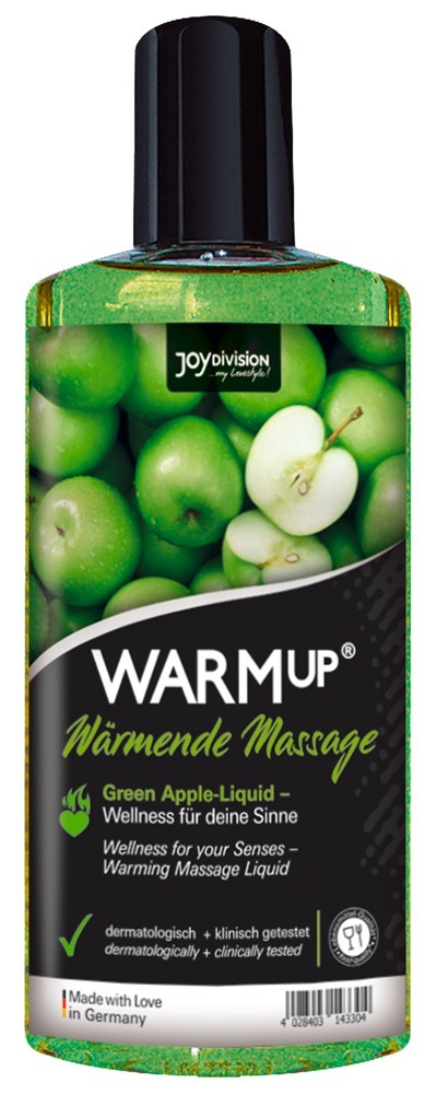 """WARMup Green Apple"", wärmendes Massage-Liquid"